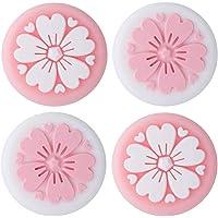 4 stuks siliconen sakura joy-con duimgreep set joystick caps schakelaar en schakelaar lite cover analoge thumbstick…