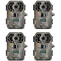 Stealth Cam 10MP HD IR Game Trail Camera, 4 Pack | G42NG (Certified Refurbished)