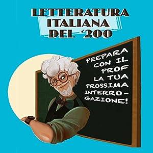 Letteratura italiana del '200 Hörbuch