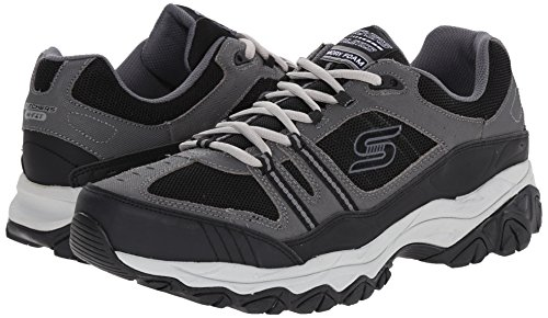 Skechers Men's After Burn Memory Fit - Strike Off Lace-Up Sneaker