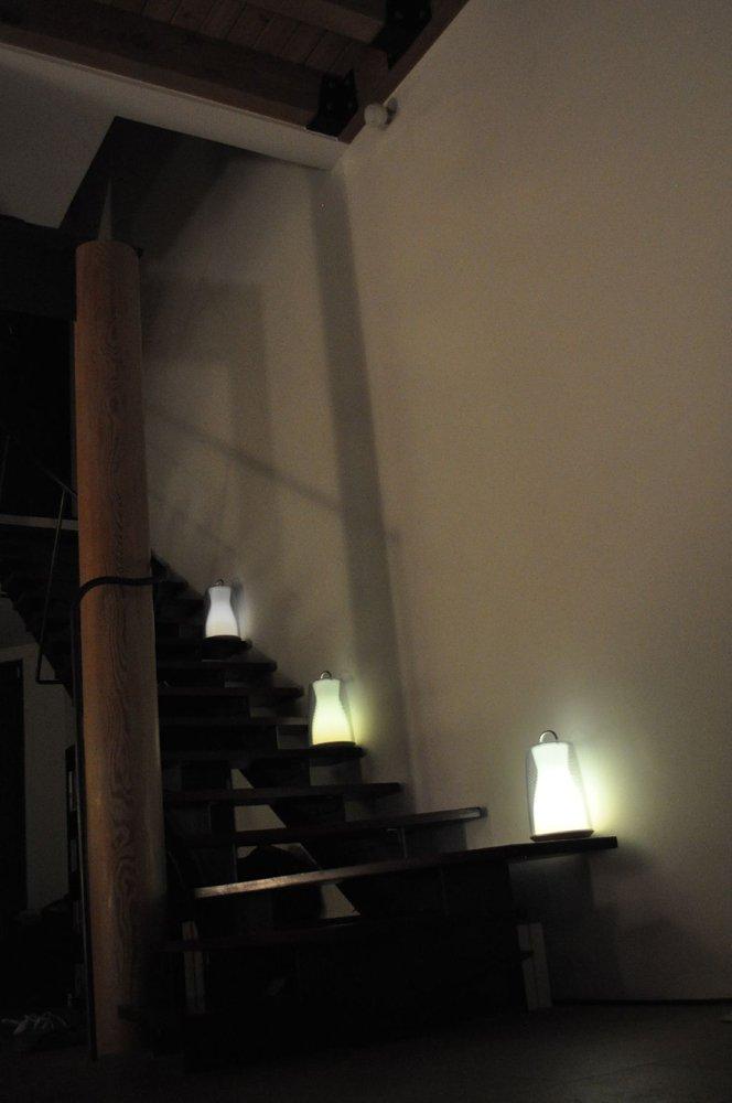 100 White BetterLighting USA Inc PL Artkalia PL-100 Transparent Nomad Lamp