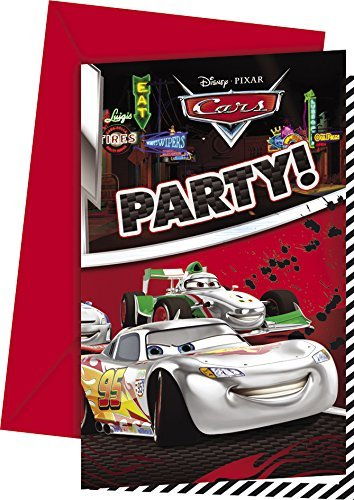 amazon com silver edition disney cars party invitations by disney