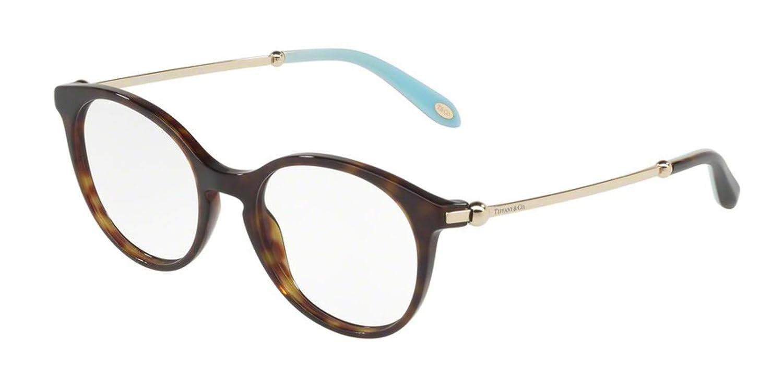 fead5bbd4ba0 Tiffany TF2159 Eyeglasses 8015 Dark Havana 49-18-140  Amazon.co.uk  Clothing