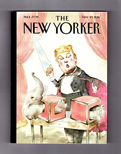 The New Yorker Magazine (May 23, 2016) Donald Trump Cover