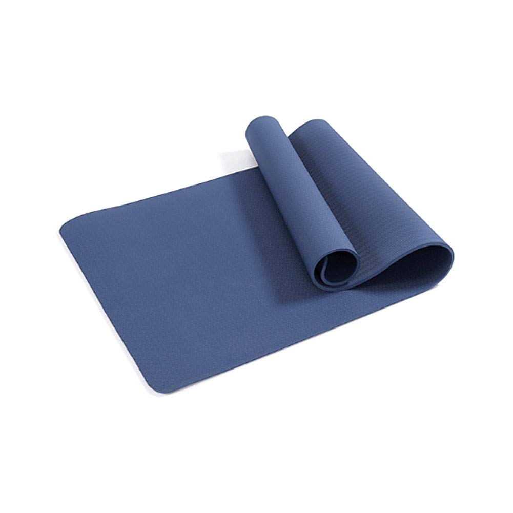QIANGYUE 8mm TPE Yoga Mat Eco Friendly Travel Pad da Viaggio Antiscivolo Pad Alta densità di Yoga, per Esercizio, Yoga e Pilates,1