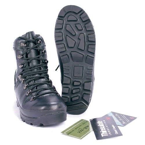 Mil-Tec Chaussures de montagne Bundeswehr avec rembourrage Dintex