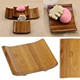 Autumn Water Bamboo Soap Storage Holder Natural Wooden Soap Box Travel Soap Rack Plate Mar