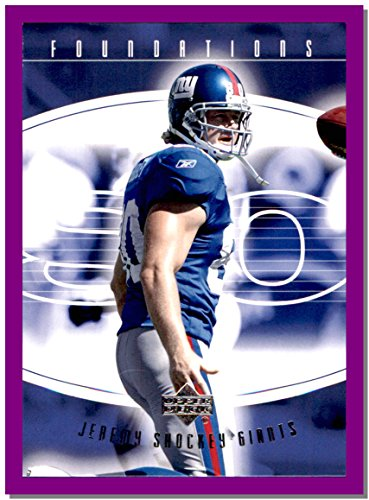 2004 Upper Deck Foundations #64 Jeremy Shockey NEW ORLEANS SAINTS GIANTS