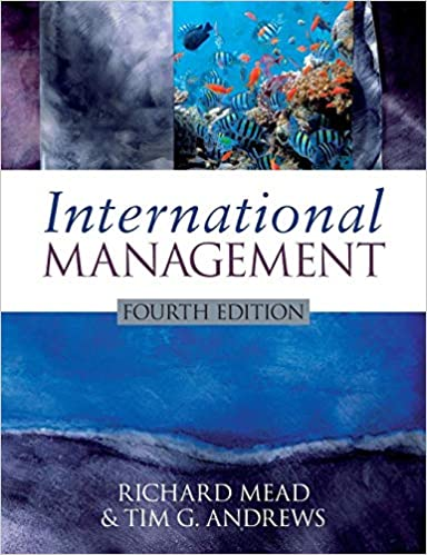 International Management: Richard Mead, Tim G  Andrews