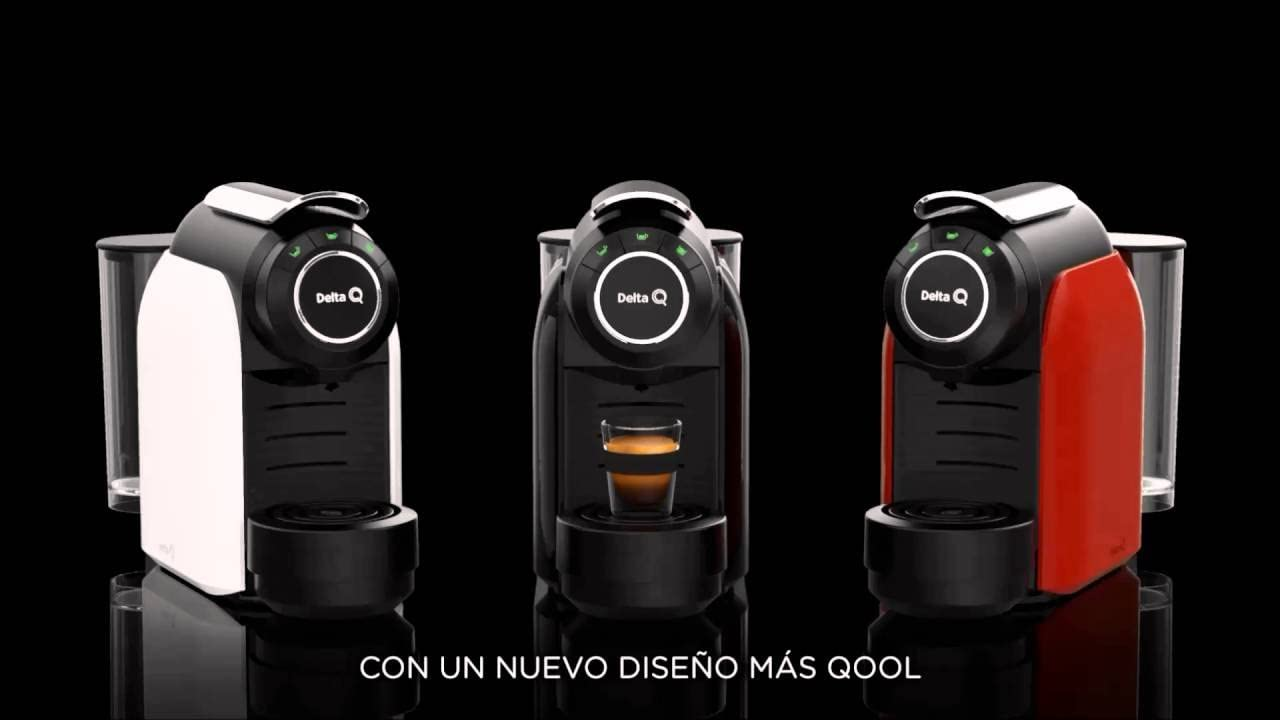 PACK CAFETERA QOOL EVOLUTION NEGRA + 150 CÁPSULAS DELTA Q: Amazon ...