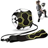 Cheelom Cinturón De Entrenamiento De Balón De Fútbol Soccer Trainer , Football Kick Throw Solo Practice Training Aid Control Skills Cinturón ajustable para niños Adultos(Sólo Cinturón De Entrenamiento)