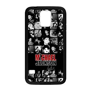 Fashion Design Michael Jackson Custom Case Cover for Samsung Galaxy S5 Laser Technology
