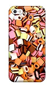 Hot Tpu Cover Case For Iphone/ 5/5s Case Cover Skin - Candy