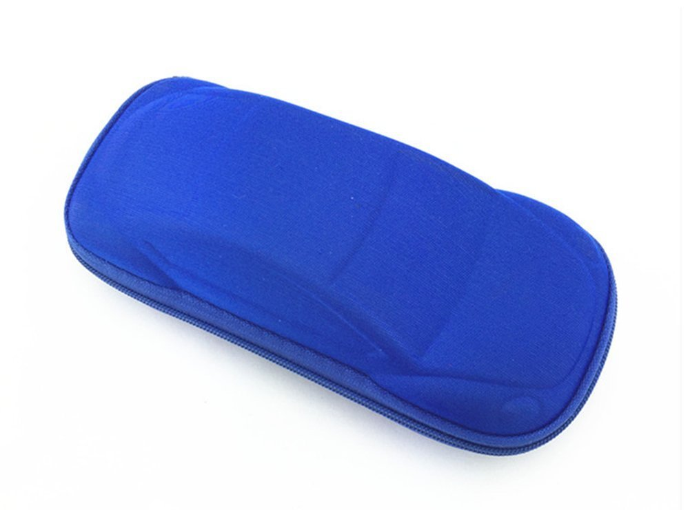 DaoRier Cool Car Shape Hard Glasses Case Sunglass Storage Box (Dark Blue)