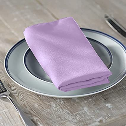 Set of 12 Pieces Hemmed Edges Table Napkins for Wedding Remedios Navy Blue Polyester Cloth Napkins 17 x 17 Inch Soft Washable Dinner Napkins Restaurant Party