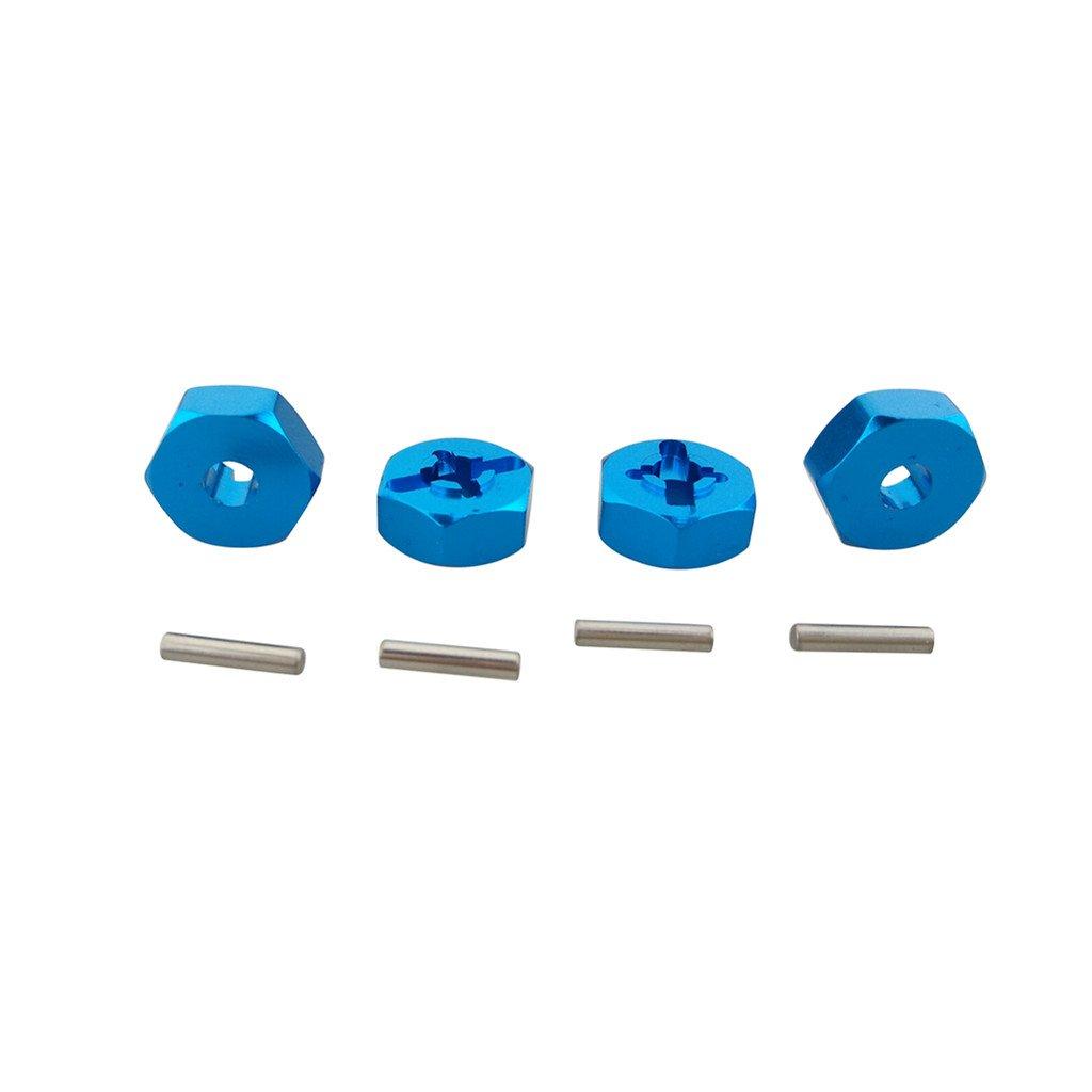 Fytoo 4PCS 12mm Aluminium radnabe Hexagon Halterung für WLtoys A949 A949 A969 A979 K929 A959-B A969-B A979-B K929-B 1/18 RC Auto Teile China