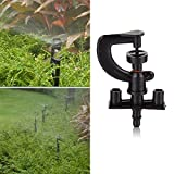 Easydeal A Pack of 50Pcs Plastic Garden Lawn Greenhouse Irrigation G-type Micro Sprinkler Heads
