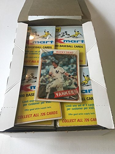 Topps Baseball Cello - 1980 TOPPS BASEBALL KMART CELLO PACK - LOT OF 8 PACKS - 3 CARDS PER PACK - 24 CARDS TOTAL