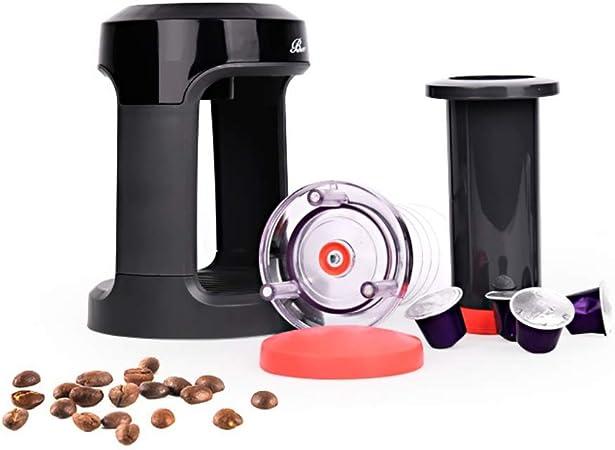 Máquina de café manual SimpleMfD Filtro Cafetera Espresso Percolador de presión manual Máquina de café espresso para viajar a casa: Amazon.es: Hogar