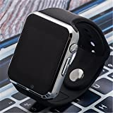 Smart Watch, DiceKoo Fashionable W8 Bluetooth Smart Phone With TFT HD LCD Touch Screen, Support SIM Card Insert, Sports with Heart Rate Monitor Health Fitness Tracker for Android/Apple iOS (Black-1)