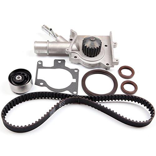 SCITOO Timing Belt W/Water Pump Kit Fit 2000-2004 Ford Focus SOHC 2.0L 1989CC L4 ()