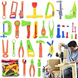 Niuniu Daddy 34-Piece Children Repair Tools Toy Set Pretend Play