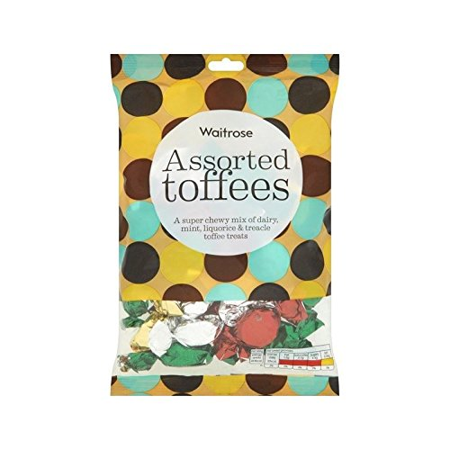 Assorted Toffees Waitrose 225g - Pack of 4