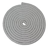 Nylon Rope Utility Rope (5/8 inch) - SGT KNOTS - Polypropylene Sheath - Moisture & Mildew Resistant - for Crafts, Cargo, Tie-Downs, Marine, Camping, Swings (50 ft - White)