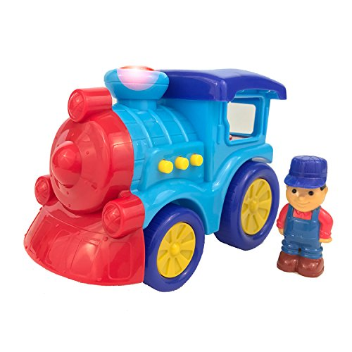 boley-toy-train-for-toddlers-light-and-sound-train-with-3-button-electric-toy-train-siren-with-flash