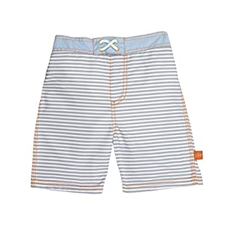 Lassig Board Shorts, Small Stripes, 6 Months