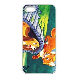 Lovely cat and dog Cell Phone Case for iPhone 5S