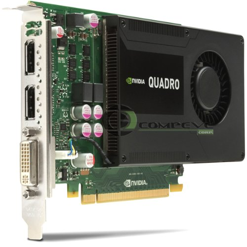 NVIDIA / IBM Quadro K2000 2GB PCIe x16 DisplayPort DVI Graphics Adapter 03T8310