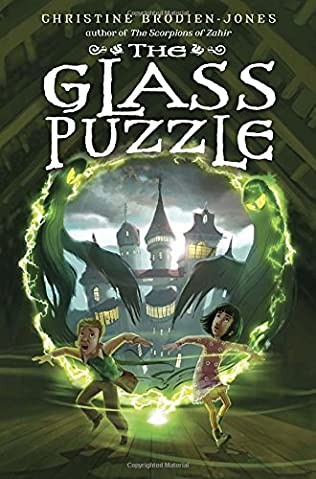 book cover of The Glass Puzzle