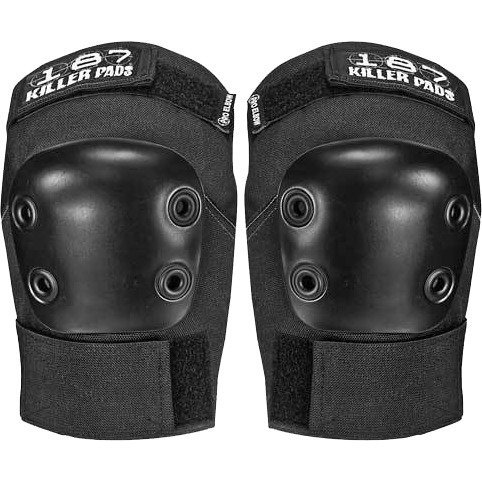 187 Killer Pads Pro Black X-Small Elbow Pads by 187 Killer Pads