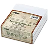 TOPS Second Nature Recycled Scratch Pad, Unruled, 3 x 5 Inches, 100 Sheets per Pad (12 Pads per Pack) (74715)