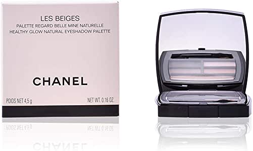 Chanel les beiges healthy glow natural eyeshadow palette 4. 5g: Amazon.es: Belleza