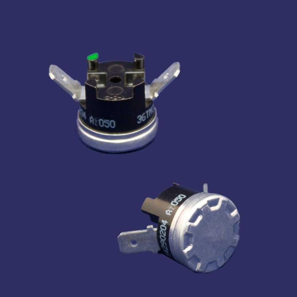 ForeverPRO 154290204 Resettable Thermostat for Frigidaire Dishwasher 12758 154290201 154290202 154290203