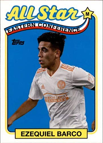 2019 Topps MLS All-Stars #AS-EB Ezequiel Barco Atlanta United Soccer Trading Card
