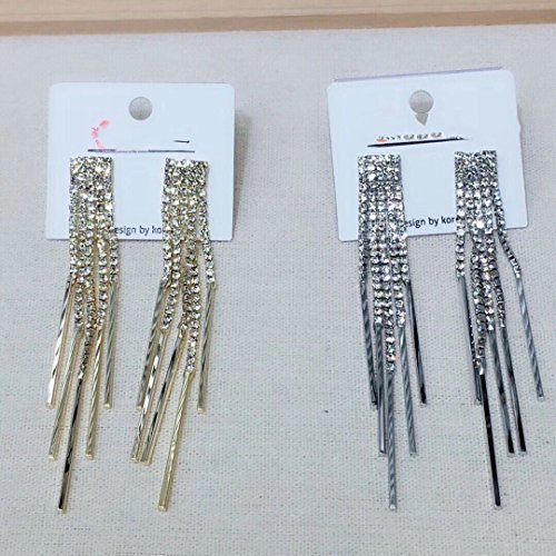 Cluster Museum (usongs Home Museum elegant luxury sparkling diamond earrings fashion tassel earrings a note)