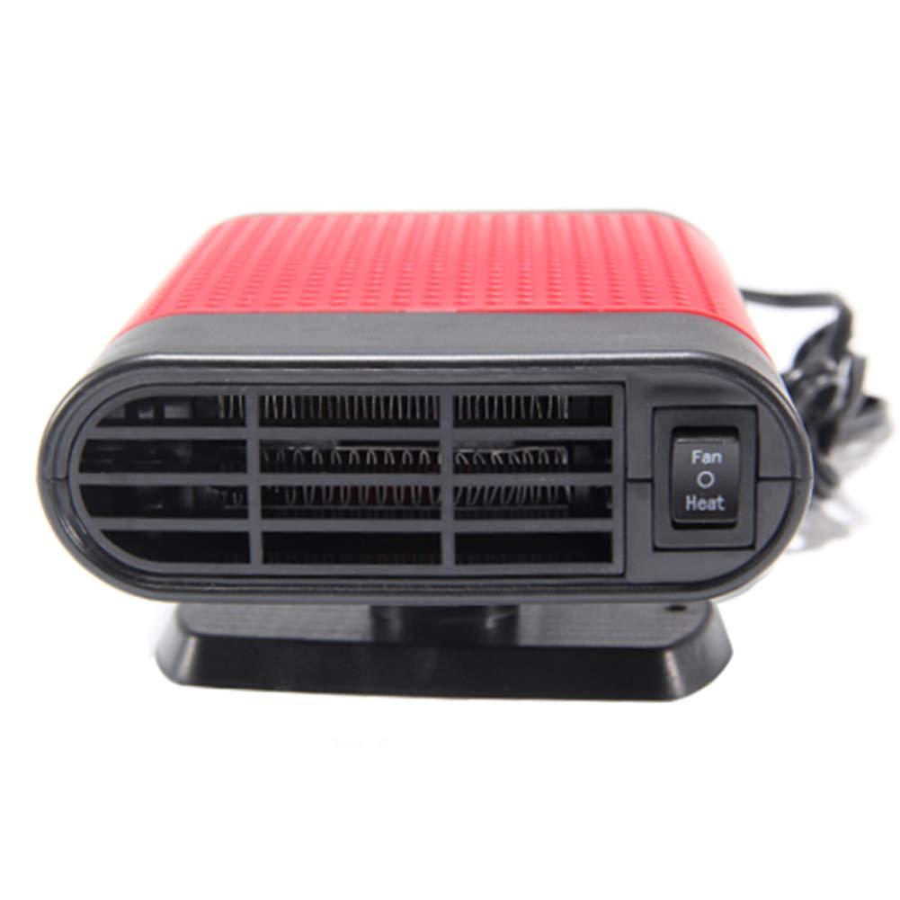 MIFXIN Auto Portatile riscaldatore sbrinatore 12 V Auto riscaldante Ventola di Raffreddamento Finestra Disappannatore 30 Secondi Veloce Riscaldamento Velocemente Defrosts Defogger Parabrezza de-icer