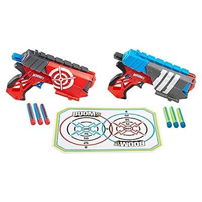 BOOMco BGY63 - Jeu De Tir - Pistolet À Fléchette Dual Defenders
