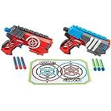 Boomco - BGY63 - Jeu De Tir - Pistolet À Fléchette - Boomco Dual Defenders