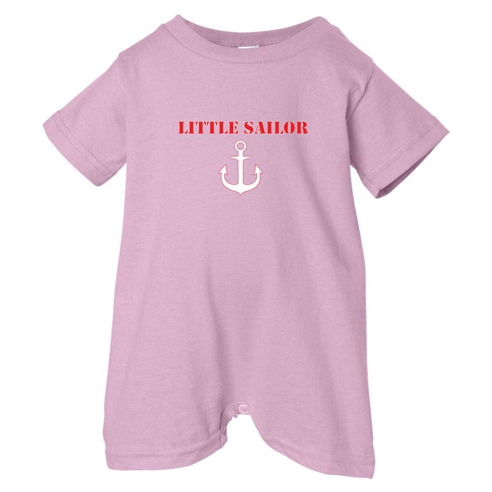 Pink, 24 Months Pirates /& Anchors Unisex Baby Little Sailor Baby /& Toddler T-Shirt Romper