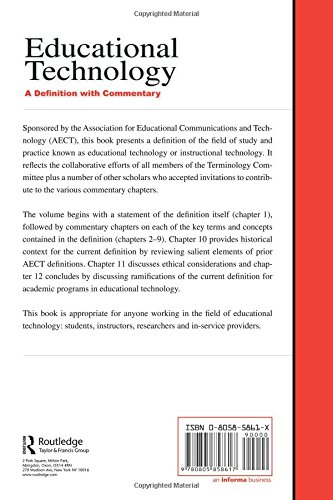 Buy Educational Technology A Definition With Commentary Book Online