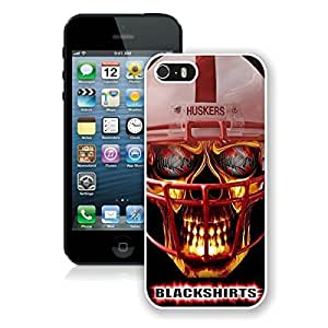 For iPhone 5S,Ncaa Big Ten Conference Football Nebraska Cornhuskers 14 White iPhone 5S Case Online