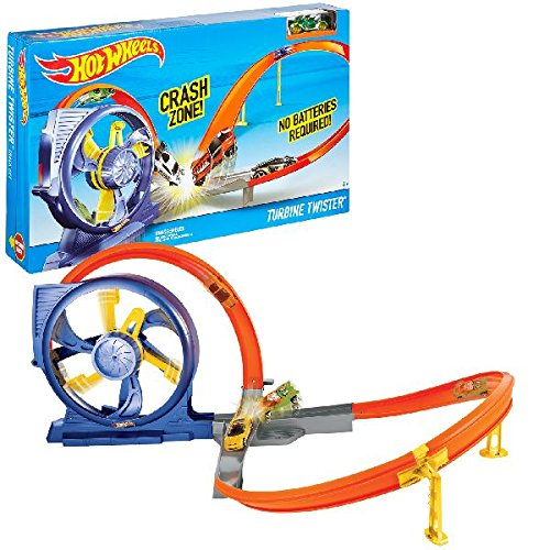 Hot Wheels Turbine Twister Track Set by Mattel DNN72