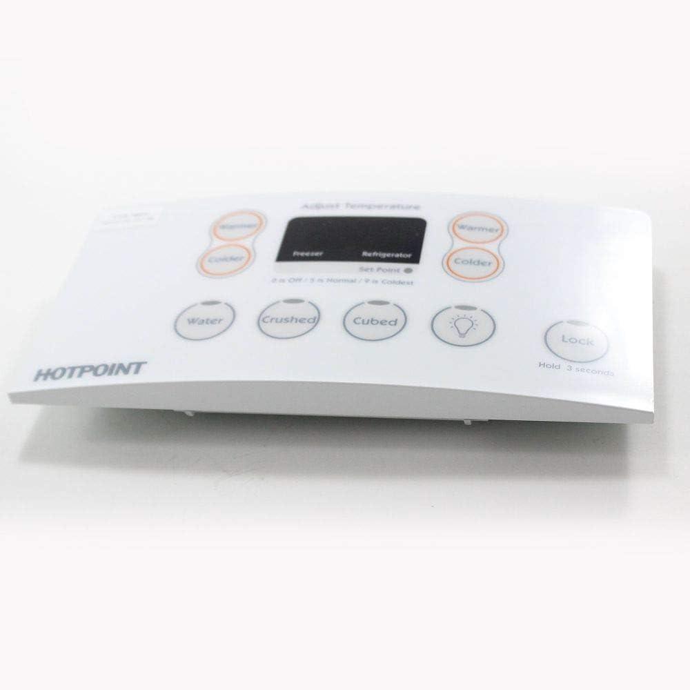 GE WR55X10565 Refrigerator Dispenser Control Board Genuine Original Equipment Manufacturer (OEM) Part White
