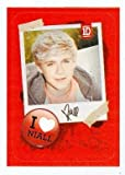 Niall Horan sticker trading card (One Direction 1D) 2013 Panini #4