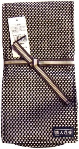 職人道楽 鉋袋 二重刺子 黒 かんなの収納や持ち運びに