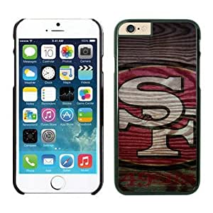 NFL iPhone 6 4.7 Inches Case San Francisco 49ers Black iPhone 6 Cell Phone Case HGEROVFD3808